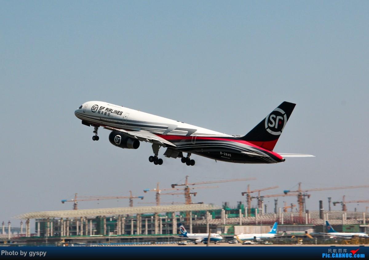 Re:[原创]新人早起白云西跑拍机!抓到汉莎MD11! BOEING 757-200 B-2845 中国广州白云国际机场