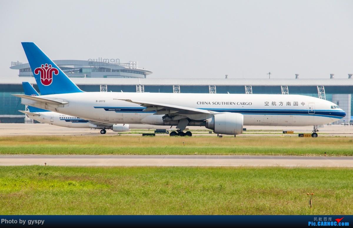 Re:[原创]新人早起白云西跑拍机!抓到汉莎MD11! BOEING 777-200 B-2072 中国广州白云国际机场