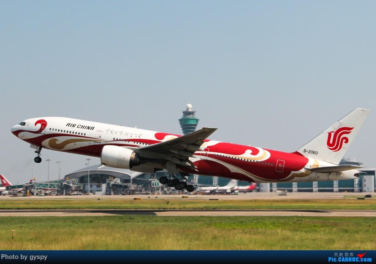 Re:[原创]新人早起白云西跑拍机!抓到汉莎MD11! BOEING 777-200 B-2060 中国广州白云国际机场