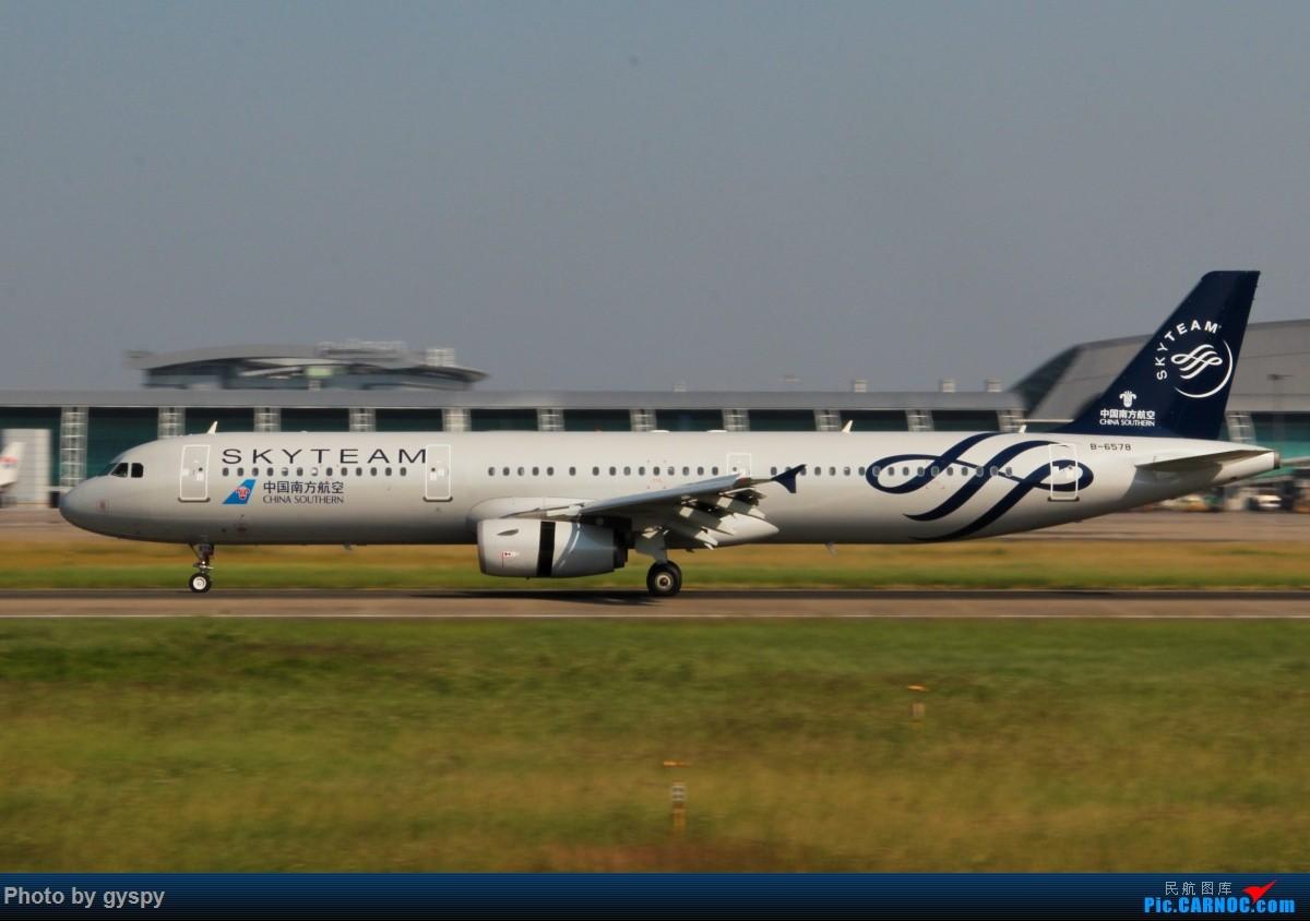 Re:[原创]新人早起白云西跑拍机!抓到汉莎MD11! AIRBUS A321-200 B-6578 中国广州白云国际机场