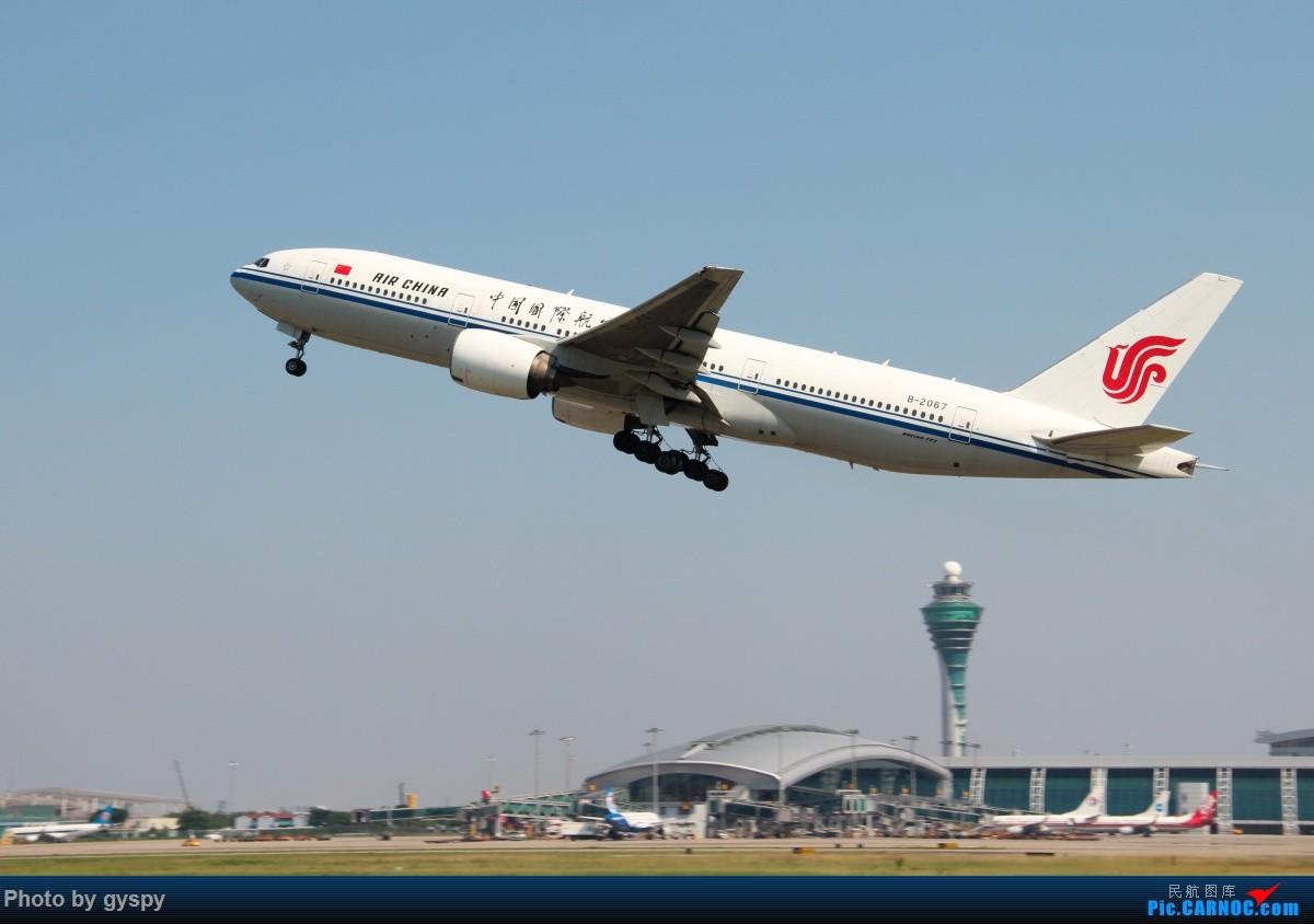 Re:[原创]新人早起白云西跑拍机!抓到汉莎MD11! BOEING 777-200 B-2067 中国广州白云国际机场
