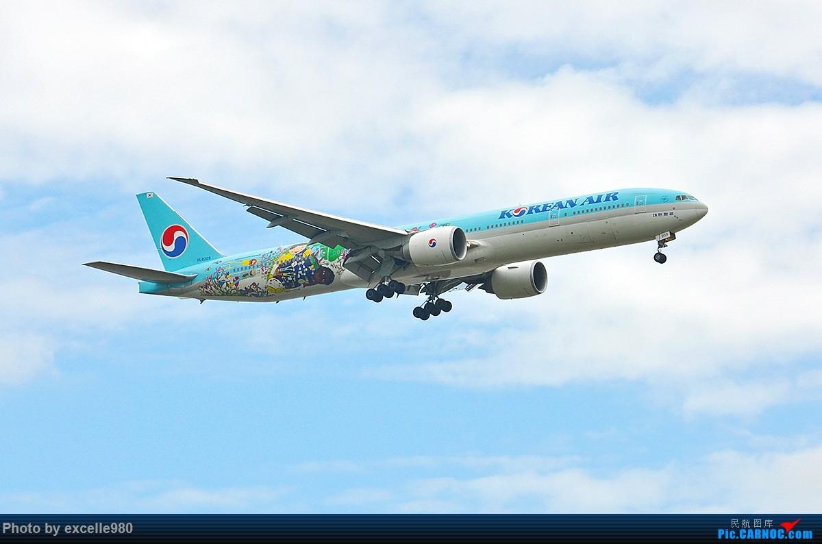 Re:[原创]【PVG】不只守着NKG,国庆疯狂拍机之浦东行,天空美得简直不像话! BOEING 777-300ER HL8209 中国上海浦东国际机场