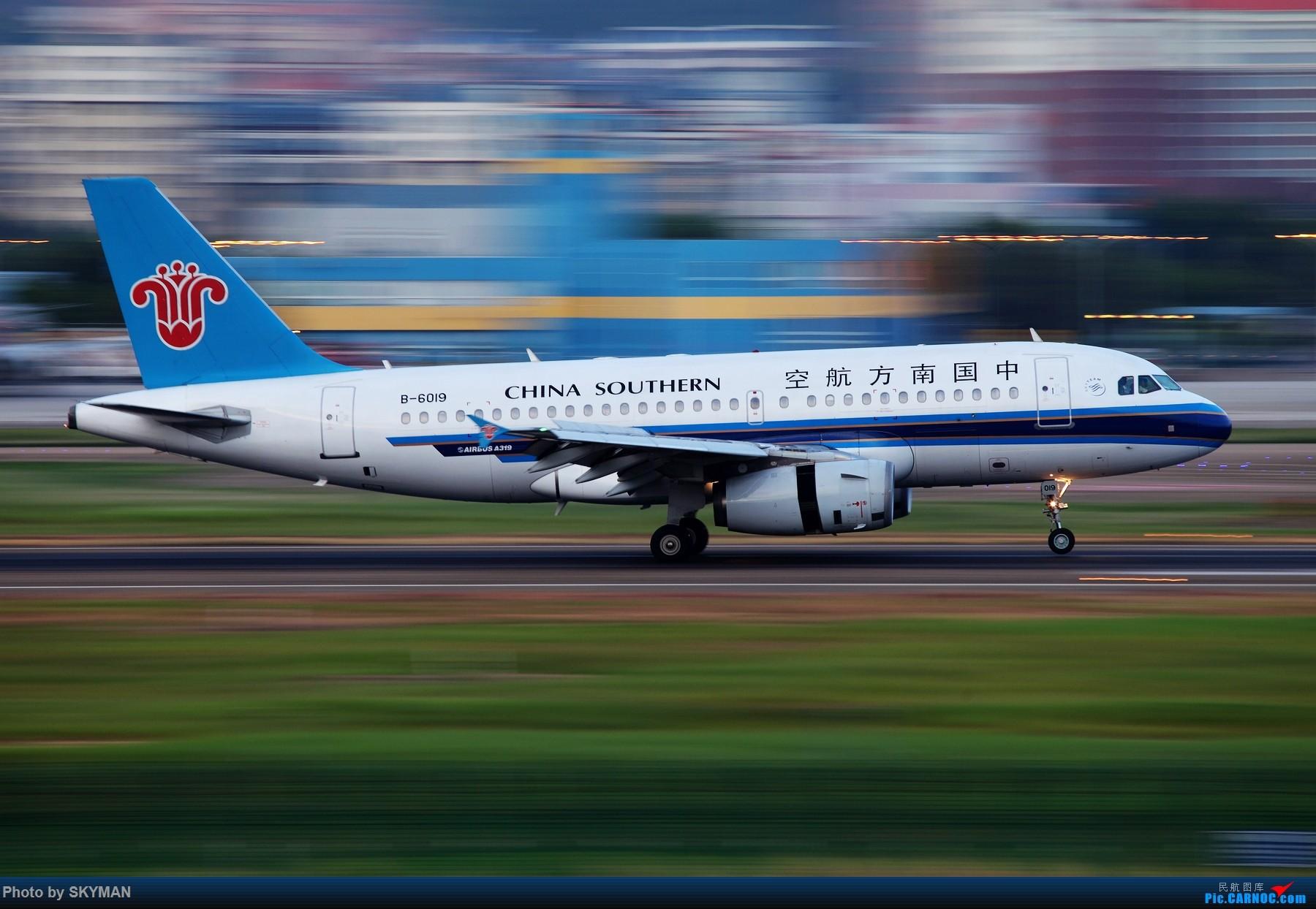 [原创]BLDDQ 虚 还是不虚? AIRBUS A319-100 B-6019 中国深圳宝安国际机场