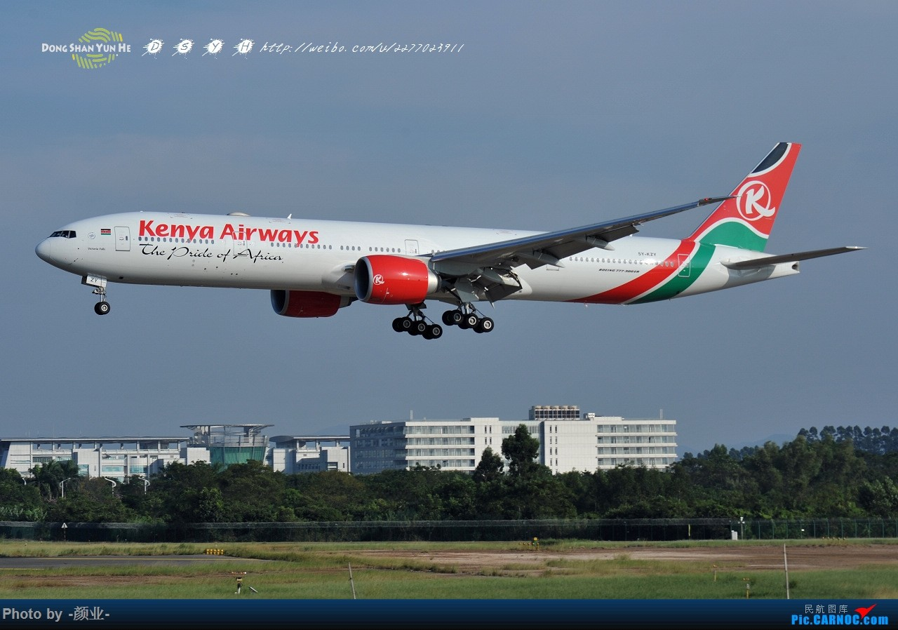 Re:[原创]ZGGG(广州CAN)的波音777系列-继续更新 BOEING 777-300ER 5Y-KZY 中国广州白云国际机场