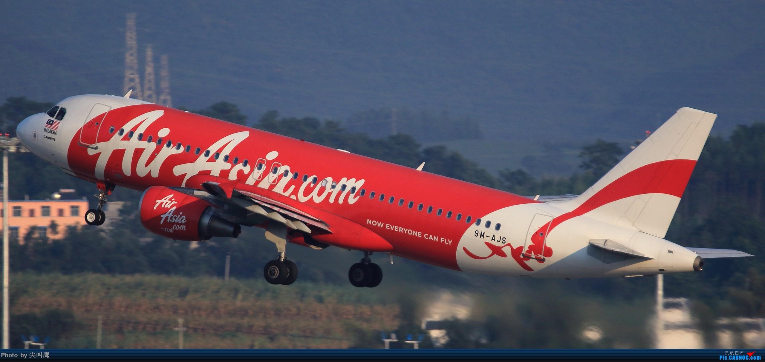 Re:[原创]NNG的亚航小合集 AIRBUS A320 9M-AJS 中国南宁吴圩国际机场