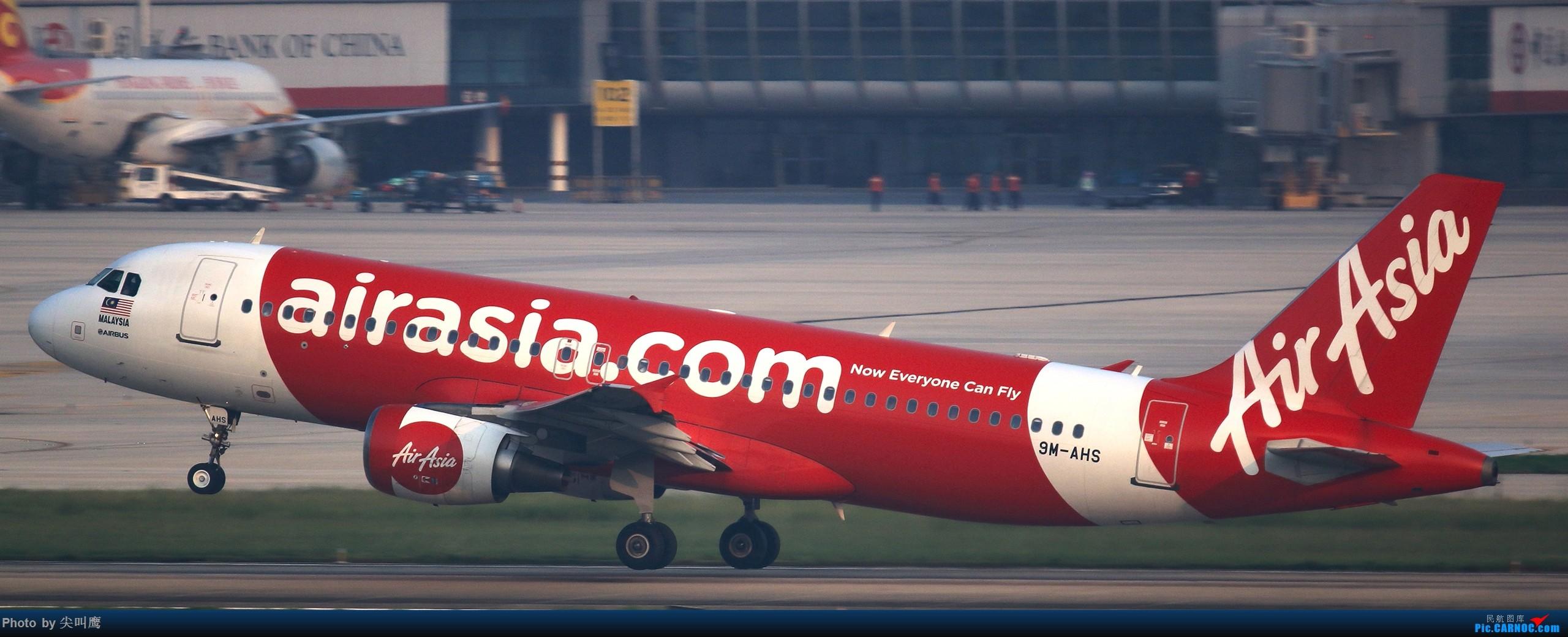 Re:[原创]NNG的亚航小合集 AIRBUS A320 9M-AHS 中国南宁吴圩国际机场