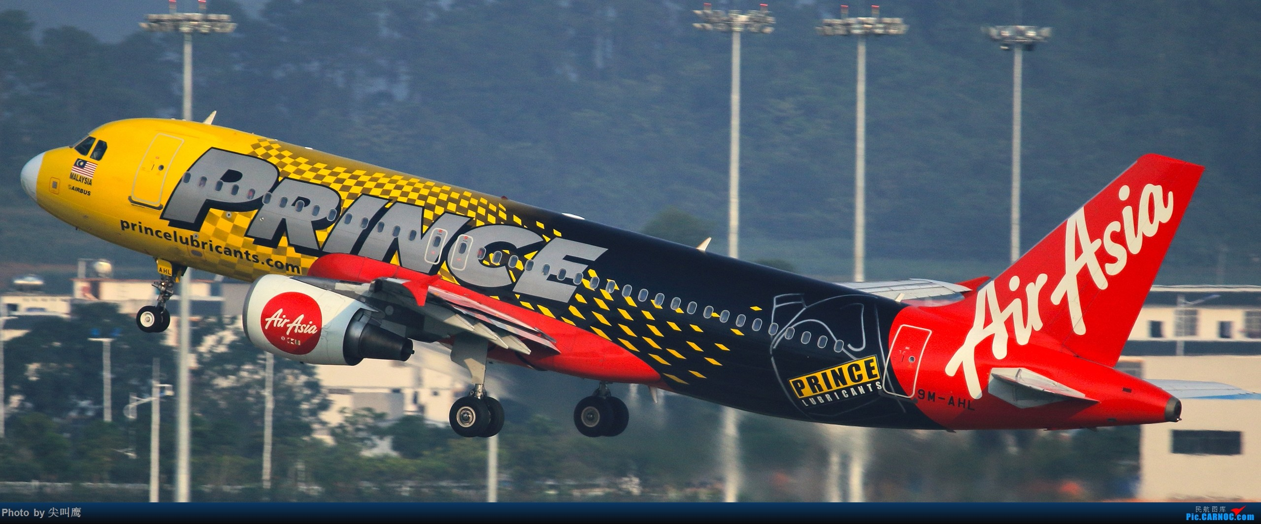 Re:[原创]NNG的亚航小合集 AIRBUS A320 9M-AHL 中国南宁吴圩国际机场