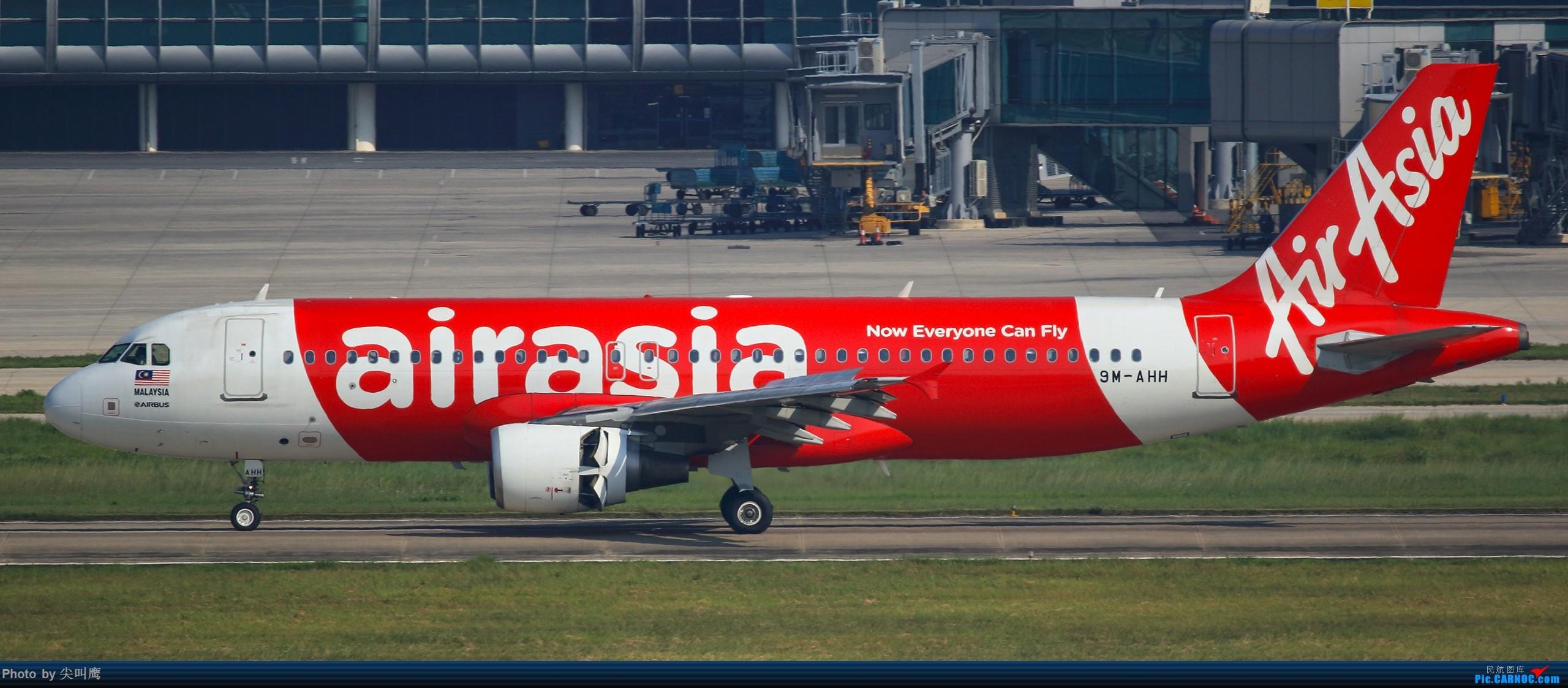 Re:[原创]NNG的亚航小合集 AIRBUS A320 9M-AHH 中国南宁吴圩国际机场