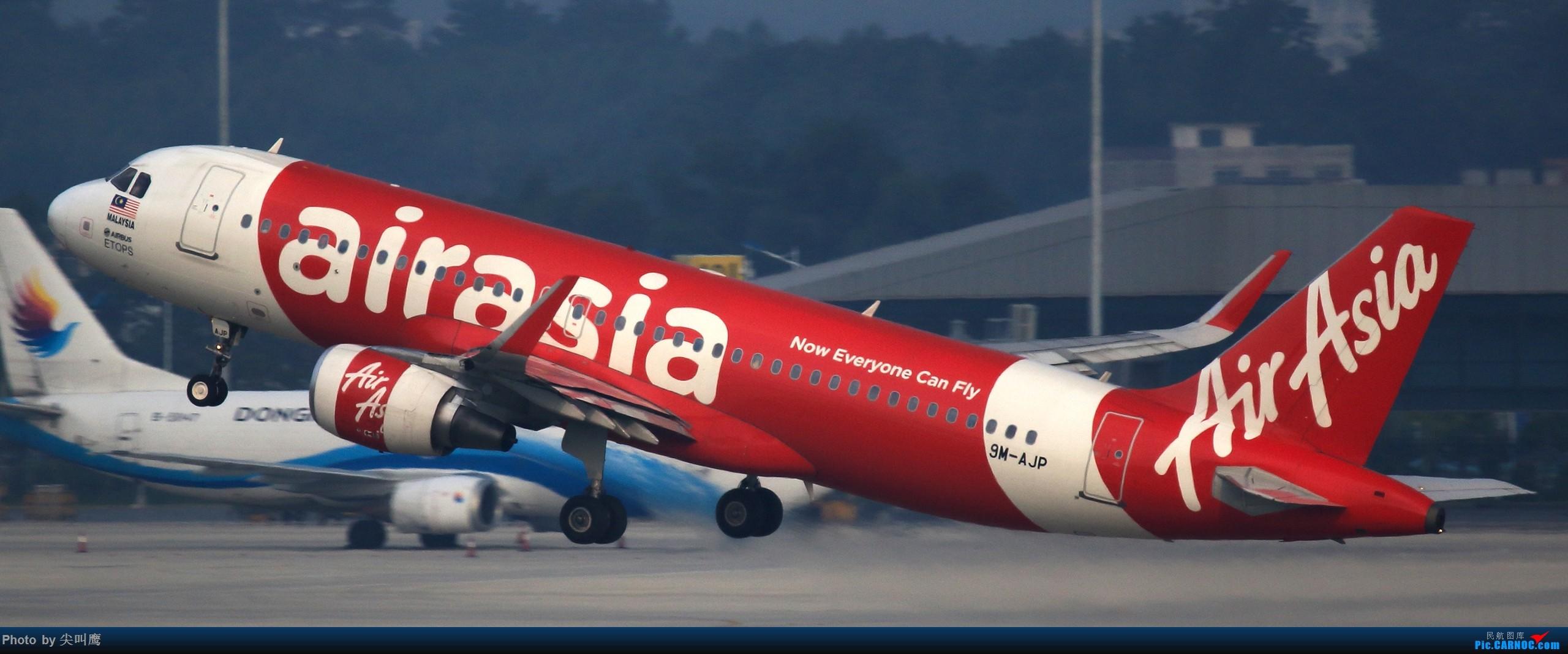 Re:[原创]NNG的亚航小合集 AIRBUS A320 9M-AJP 中国南宁吴圩国际机场
