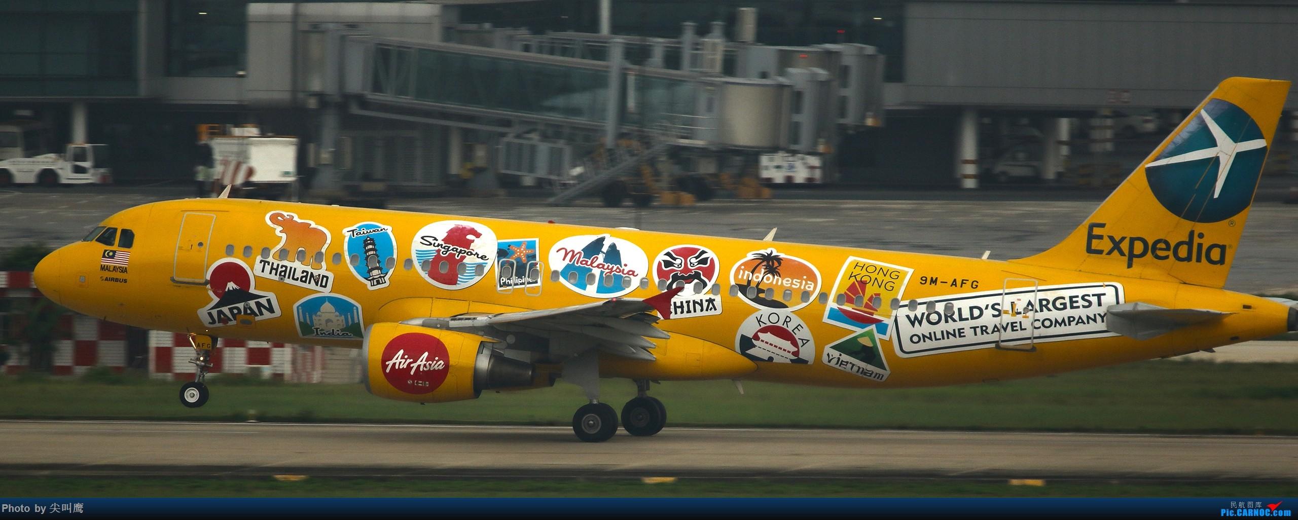 Re:[原创]NNG的亚航小合集 AIRBUS A320 9M-AFG 中国南宁吴圩国际机场