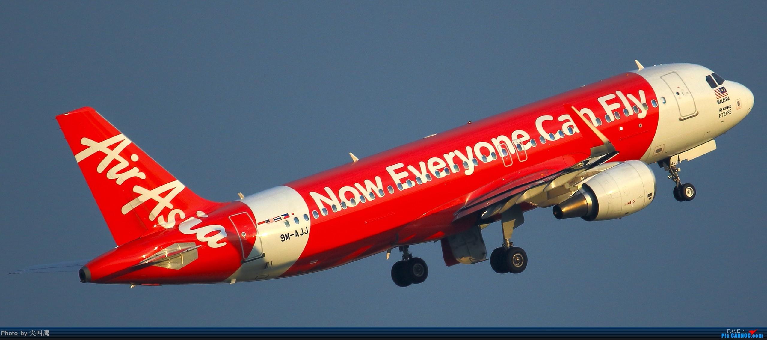 Re:[原创]NNG的亚航小合集 AIRBUS A320 9M-AJJ 中国南宁吴圩国际机场