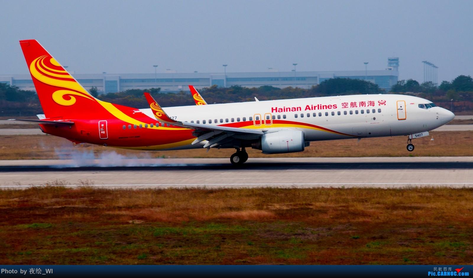 Re:[原创]【NKG】生日第二天就去拍机,日常练手+练后期,今天是胶片味 BOEING 737-800 B-5427 中国南京禄口国际机场