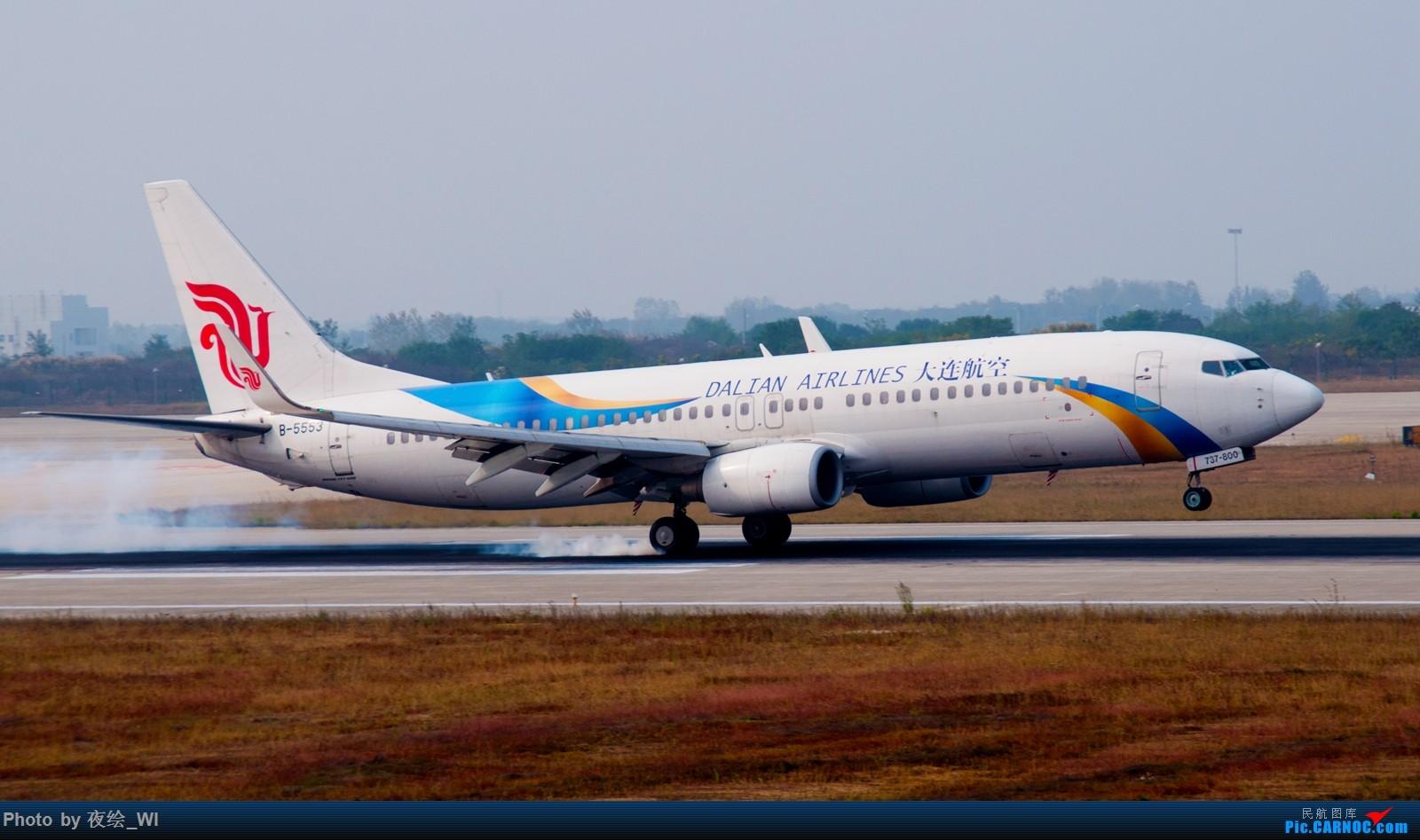 Re:[原创]【NKG】生日第二天就去拍机,日常练手+练后期,今天是胶片味 BOEING 737-800 B-5553 中国南京禄口国际机场