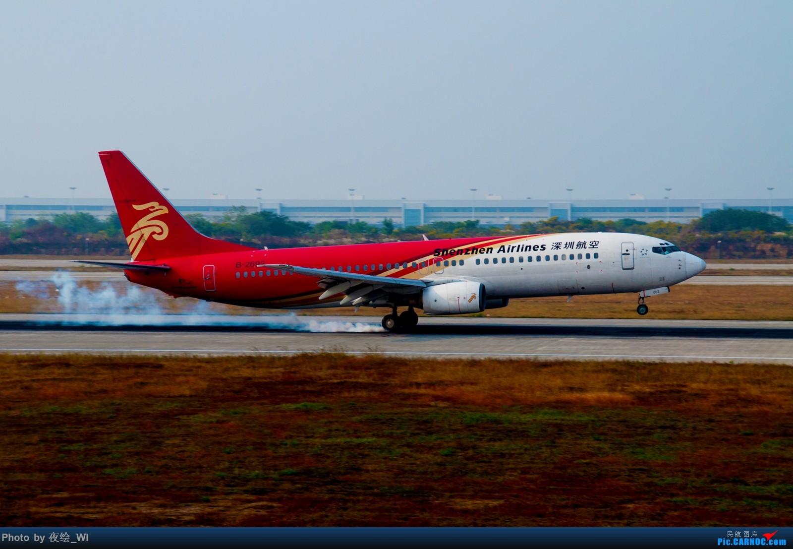 Re:[原创]【NKG】生日第二天就去拍机,日常练手+练后期,今天是胶片味 BOEING 737-800 B-2692 中国南京禄口国际机场