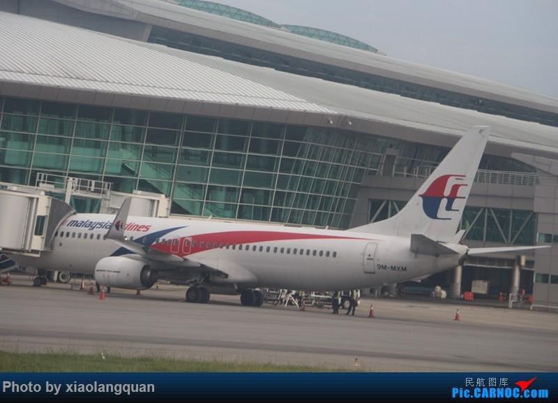 Re:短暂的5天4夜马来西亚沙巴之行 by 垃圾亚航,听说帖子名字长才有人看,好吧,我编不出来~(更新中) BOEING 737-800 9M-MXM 马来西亚沙巴机场