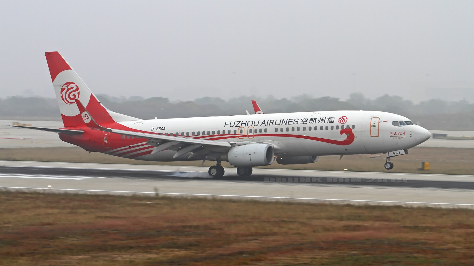 [原创]NKG~航班换季~福州长龙首航 BOEING 737-800 B-5503 中国南京禄口国际机场