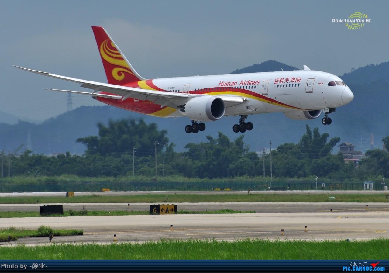 Re:[原创]记录曾经拍过的878 BOEING 787-8 B-2723 中国广州白云国际机场