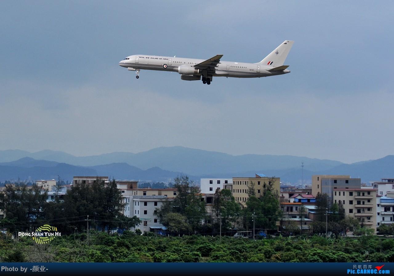 Re:[原创]CAN拍过的军机 BOEING 757-200 NZ7571 中国广州白云国际机场