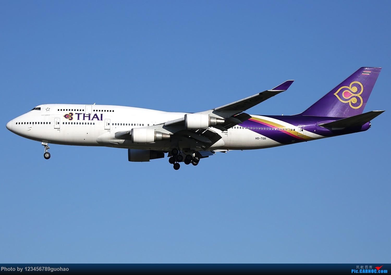 Re:[原创]清库存 BOEING 747-400 HS-TGB 北京首都机场