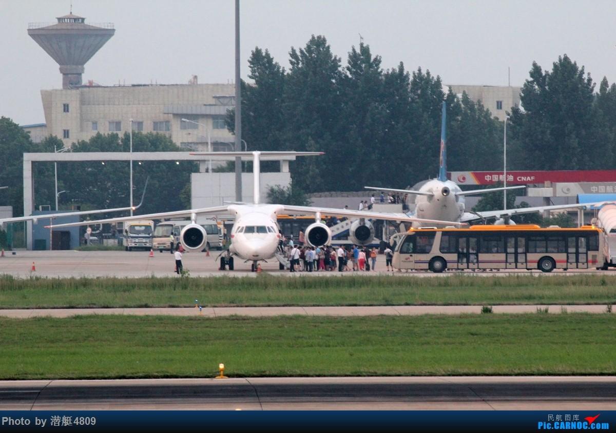 Re:[原创][郑州飞友会]金三胖的新坐驾也来赚外汇 安148 P672 新郑国际机场