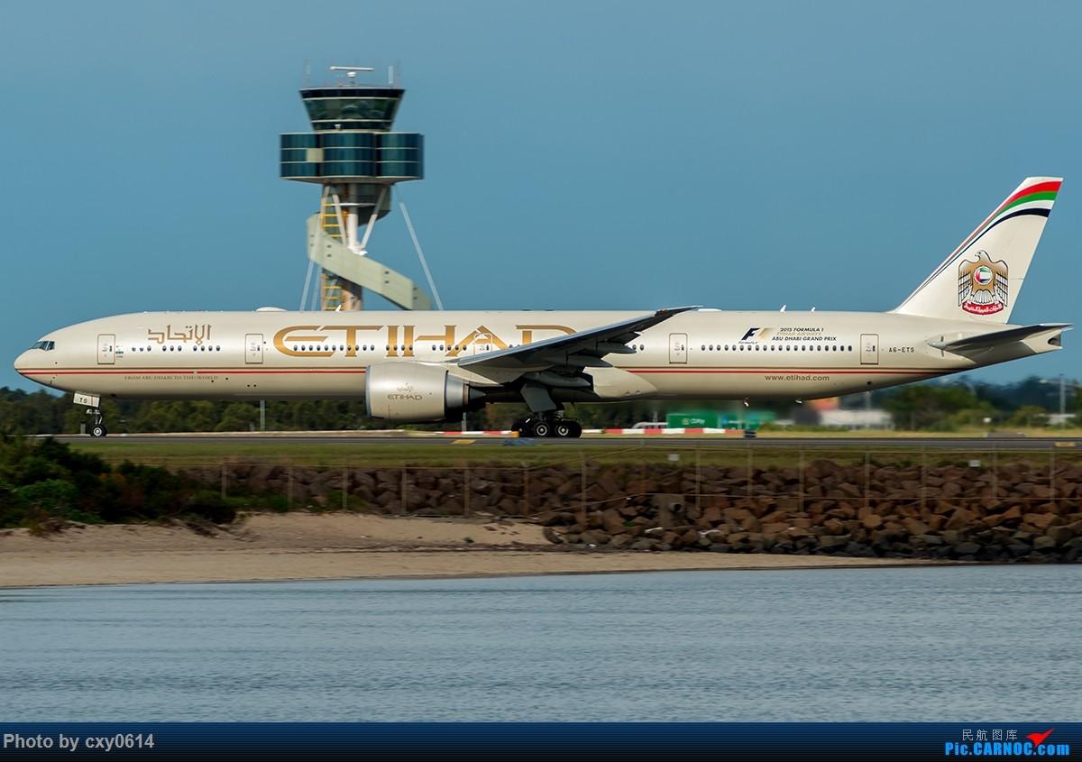 Re:[原创]【多图】半年来SYD拍机 BOEING 777-300 A6-ETS 澳大利亚悉尼金斯福德·史密斯机场