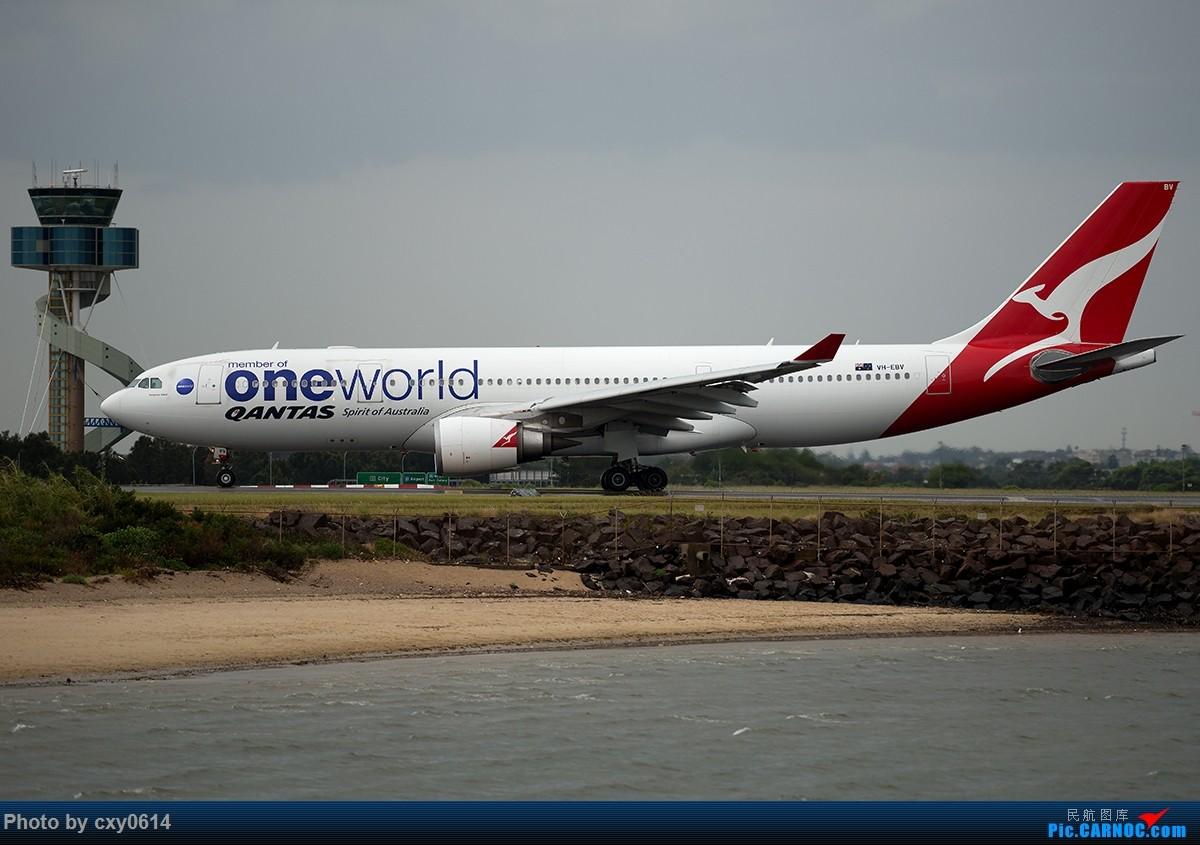 Re:[原创]【多图】半年来SYD拍机 AIRBUS A330 VH-EBV 澳大利亚悉尼金斯福德·史密斯机场