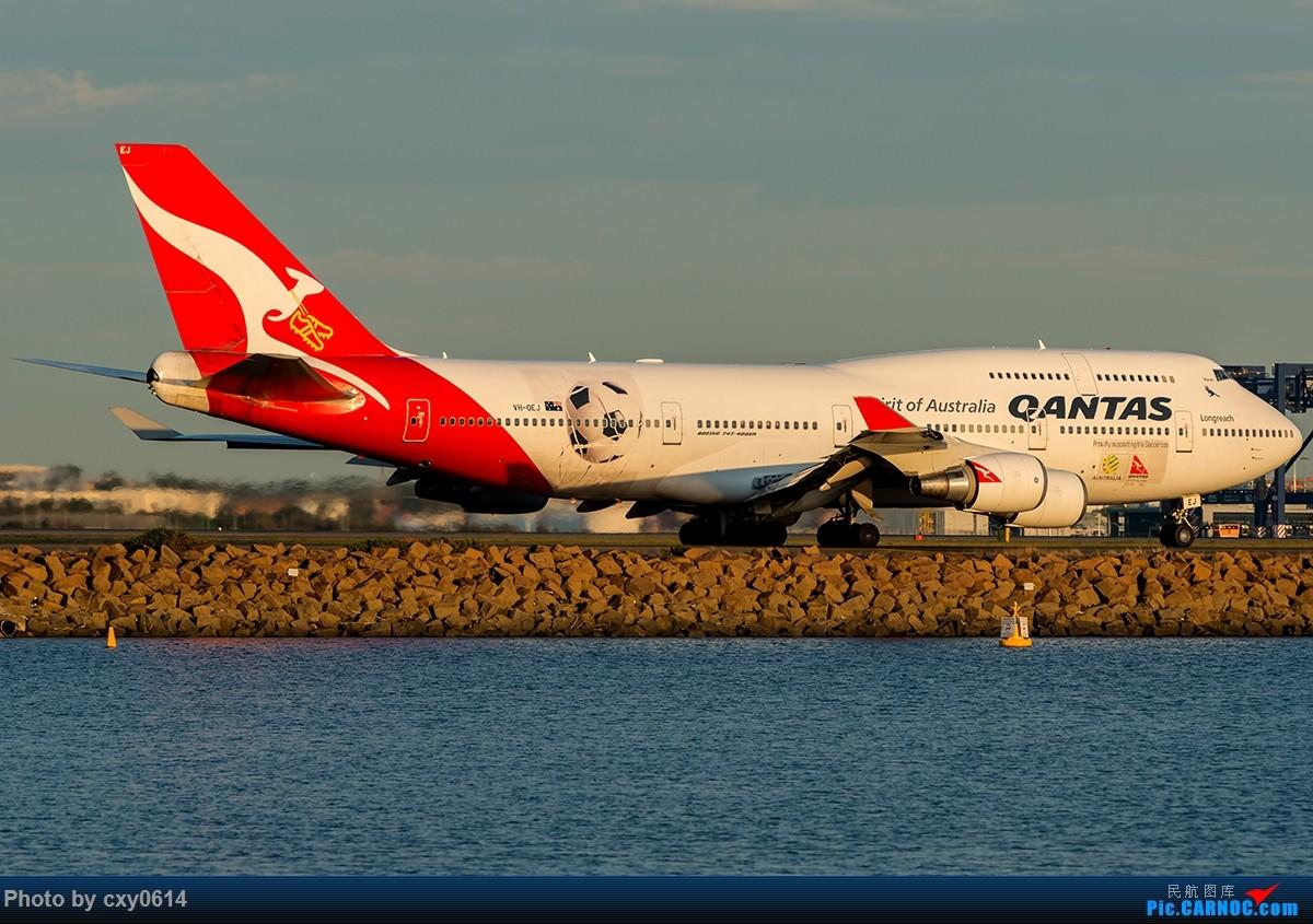 Re:[原创]【多图】半年来SYD拍机 BOEING 747-400 VH-OEJ 澳大利亚悉尼金斯福德·史密斯机场