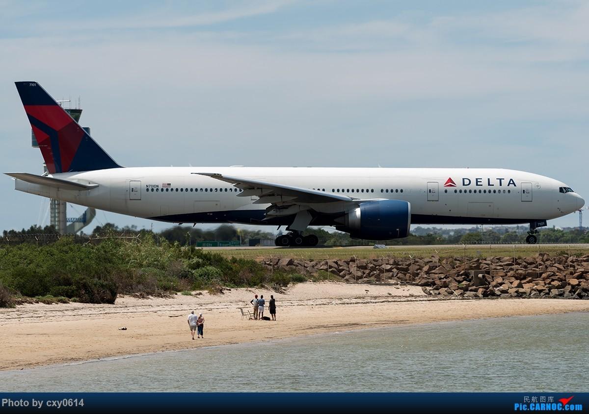 Re:[原创]【多图】半年来SYD拍机 BOEING 777-200 LR N701DN 澳大利亚悉尼金斯福德·史密斯机场