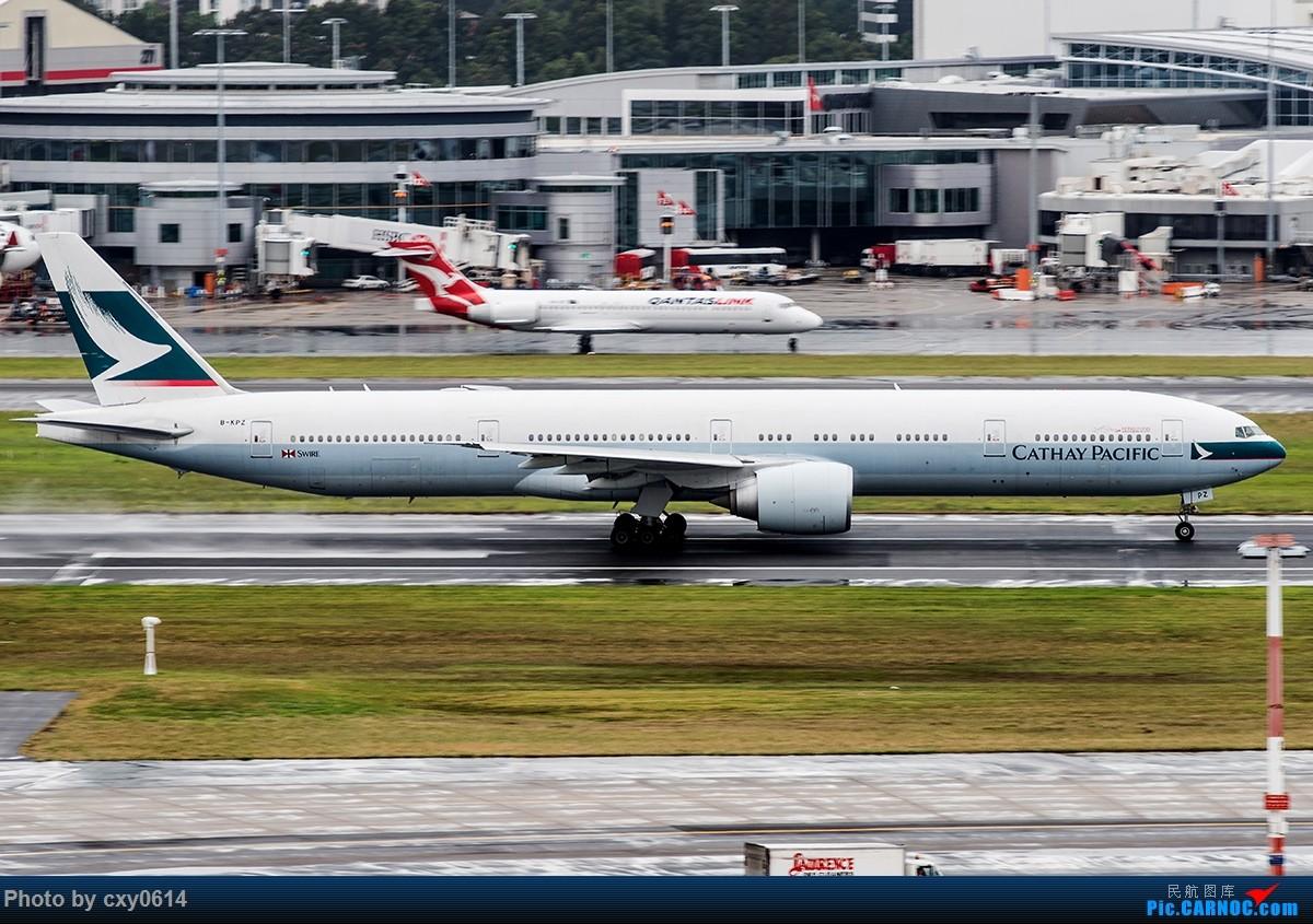 Re:[原创]【多图】半年来SYD拍机 BOEING 777-300ER B-KPZ 澳大利亚悉尼金斯福德·史密斯机场