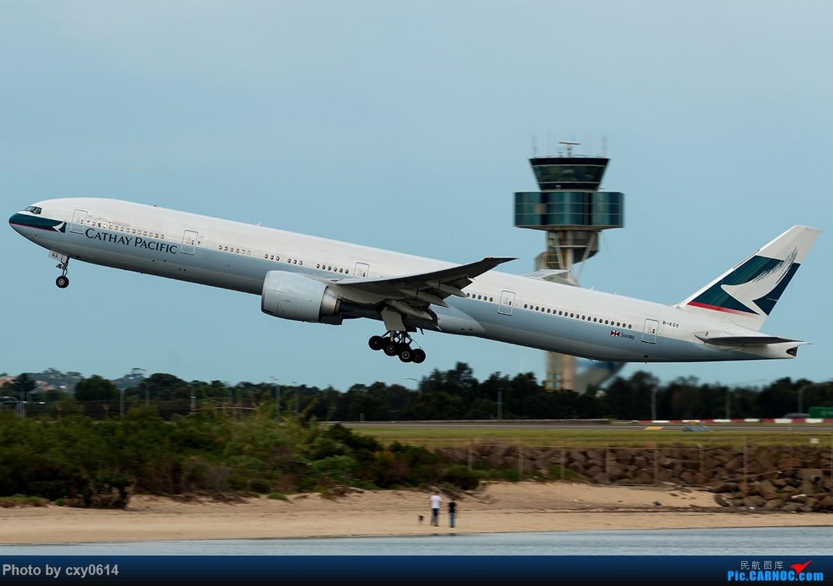 Re:[原创]【多图】半年来SYD拍机 BOEING 777-300ER B-KQS 澳大利亚悉尼金斯福德·史密斯机场