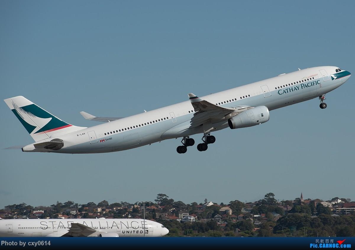 Re:[原创]【多图】半年来SYD拍机 AIRBUS A330-300 B-LAX 澳大利亚悉尼金斯福德·史密斯机场