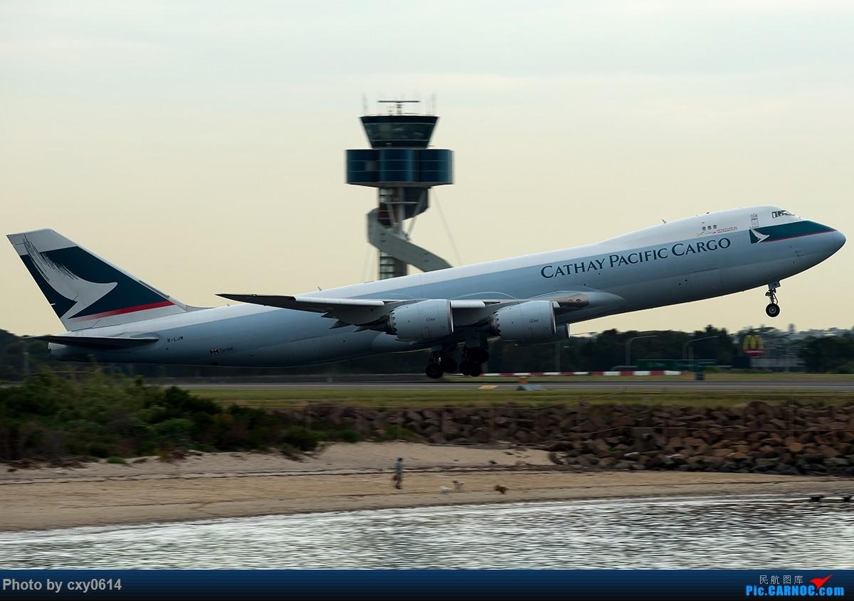Re:[原创]【多图】半年来SYD拍机 BOEING 747-8I B-LJM 澳大利亚悉尼金斯福德·史密斯机场