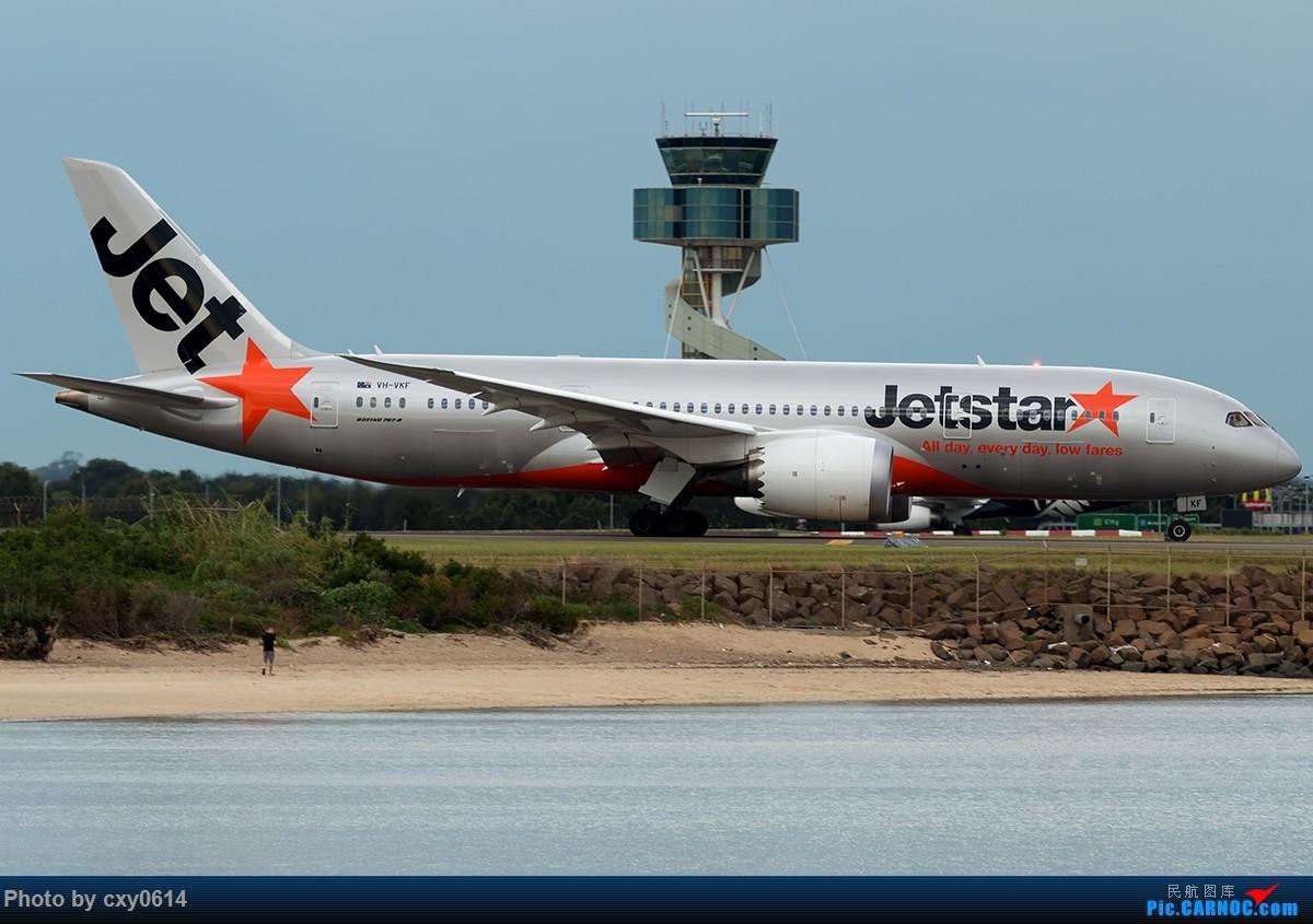 Re:[原创]【多图】半年来SYD拍机 BOEING 787-8 VH-VKF 澳大利亚悉尼金斯福德·史密斯机场