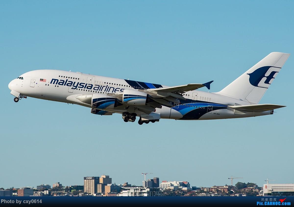 Re:[原创]【多图】半年来SYD拍机 AIRBUS A380-800 9M-MNC 澳大利亚悉尼金斯福德·史密斯机场