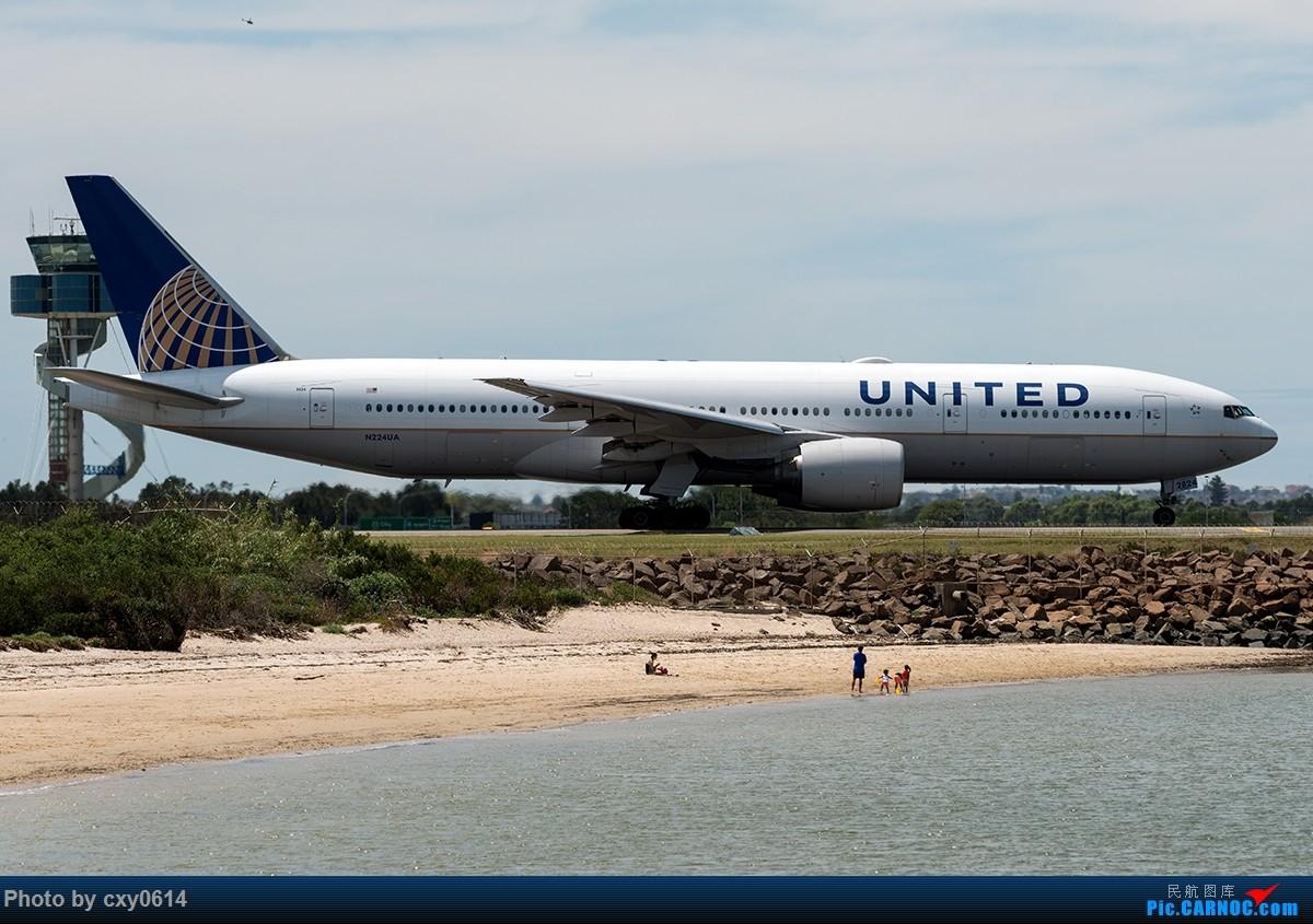 Re:[原创]【多图】半年来SYD拍机 BOEING 777-200 LR N224UA 澳大利亚悉尼金斯福德·史密斯机场