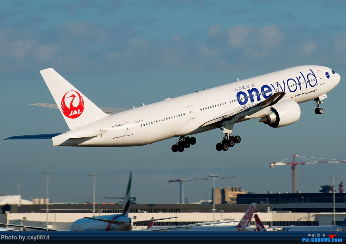 Re:[原创]【多图】半年来SYD拍机 BOEING 777-200 JA708J 澳大利亚悉尼金斯福德·史密斯机场