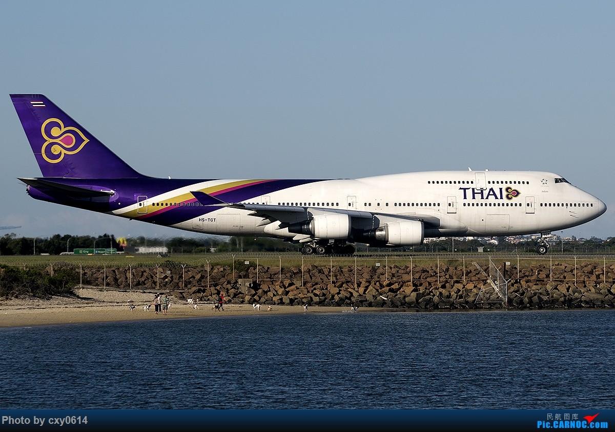 Re:[原创]【多图】半年来SYD拍机 BOEING 747-400 HS-TGT 澳大利亚悉尼金斯福德·史密斯机场