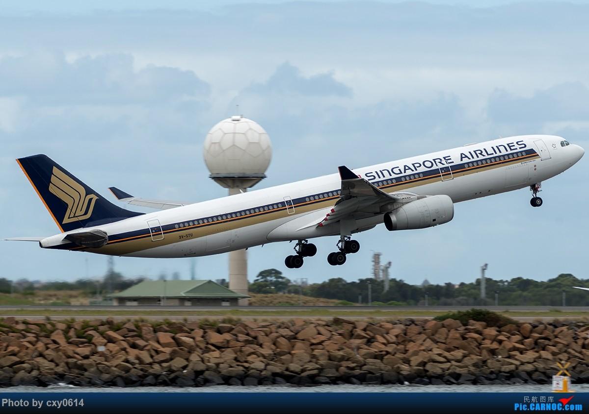 Re:[原创]【多图】半年来SYD拍机 AIRBUS A330 9V-STU 澳大利亚悉尼金斯福德·史密斯机场