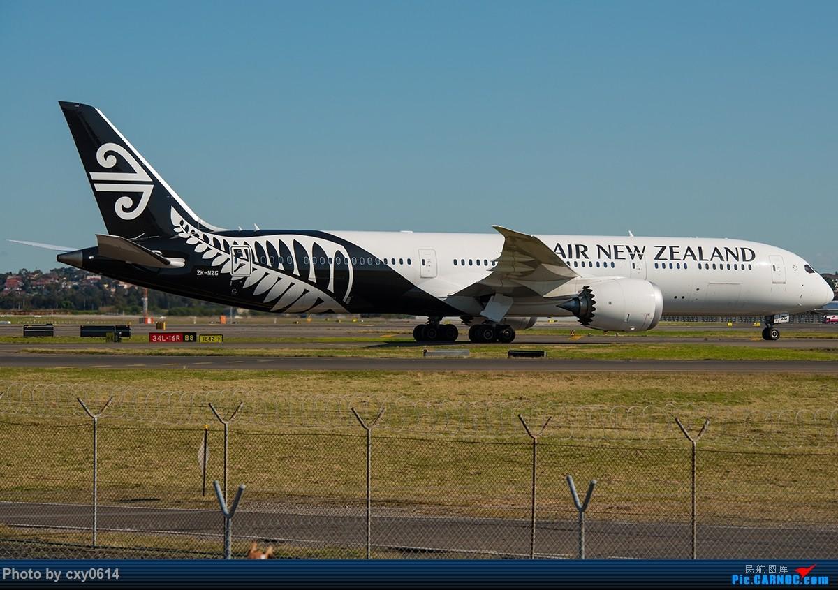 Re:[原创]【多图】半年来SYD拍机 BOEING 787-9 ZK-NZG 澳大利亚悉尼金斯福德·史密斯机场