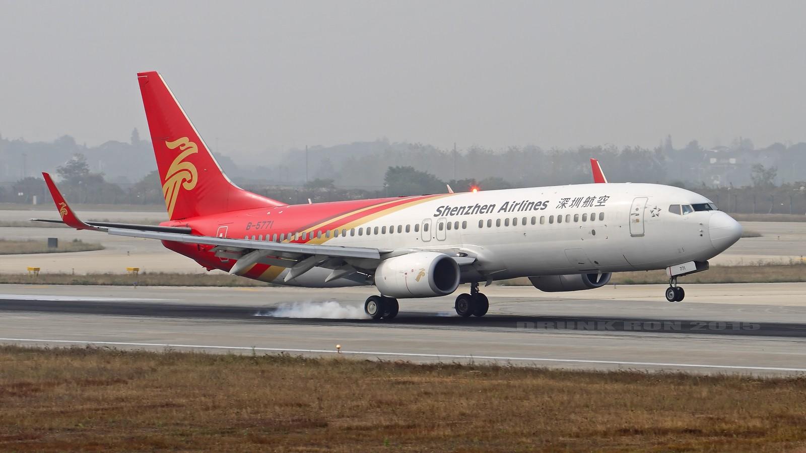 [原创]NKG~十月份的作业(一) BOEING 737-800 B-5771 中国南京禄口国际机场