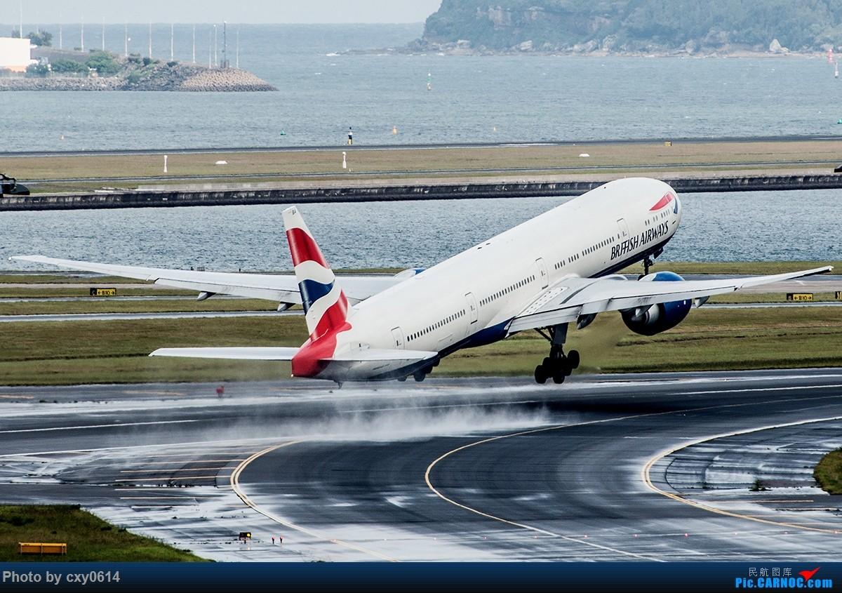 Re:[原创]【多图】半年来SYD拍机 BOEING 777-300 G-STBA 澳大利亚悉尼金斯福德·史密斯机场