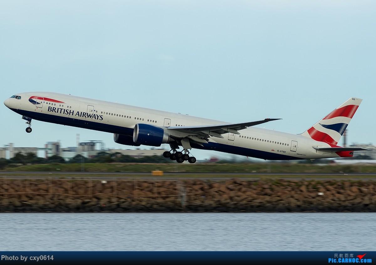 Re:[原创]【多图】半年来SYD拍机 BOEING 777-300 G-STBD 澳大利亚悉尼金斯福德·史密斯机场