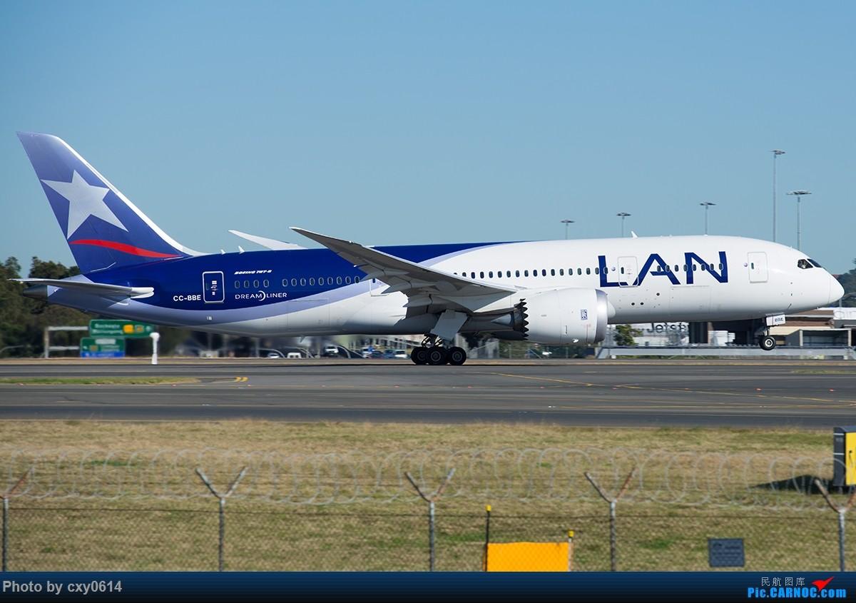 Re:[原创]【多图】半年来SYD拍机 BOEING 787-8 CC-BBE 澳大利亚悉尼金斯福德·史密斯机场