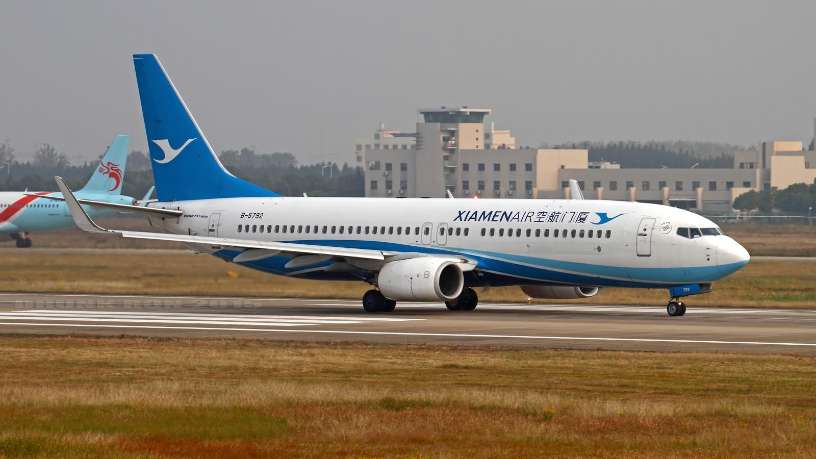Re:[原创]NKG~十月份的作业(一) BOEING 737-800 B-5792 中国南京禄口国际机场