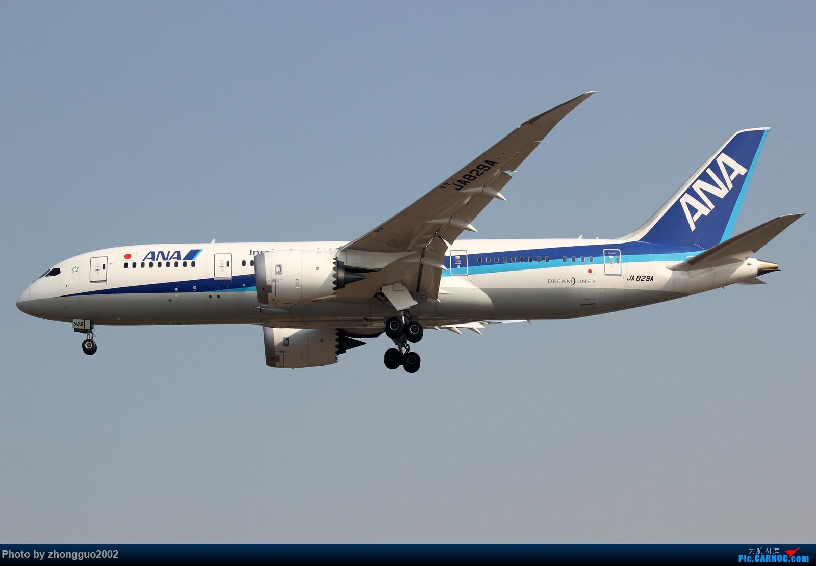 [原创]787 BOEING 787-8  中国北京首都国际机场