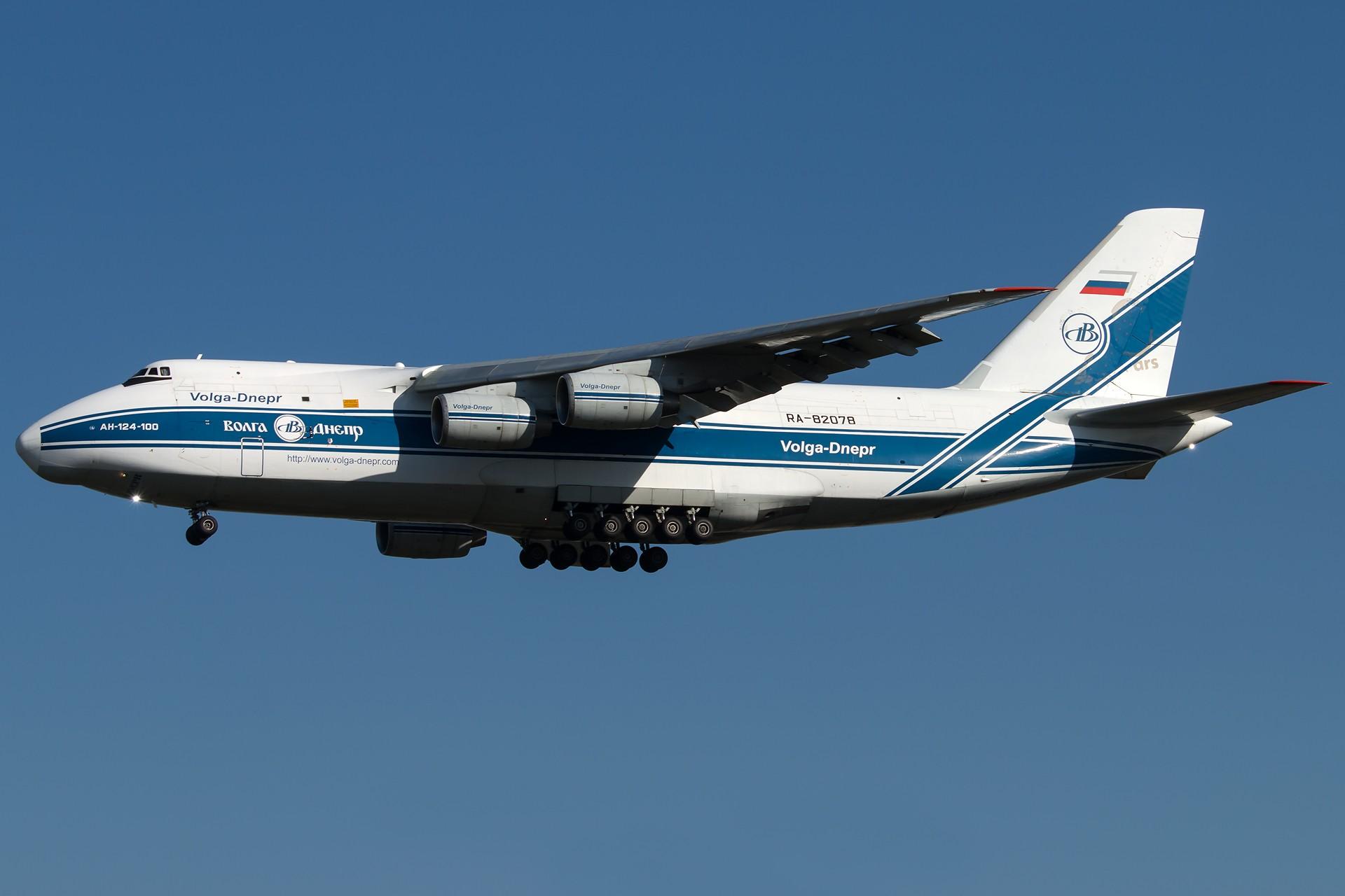 [原创][一图党]An-124 1920*1280 ANTONOV AN-124-100 RUSLAN RA-82078 中国北京首都国际机场