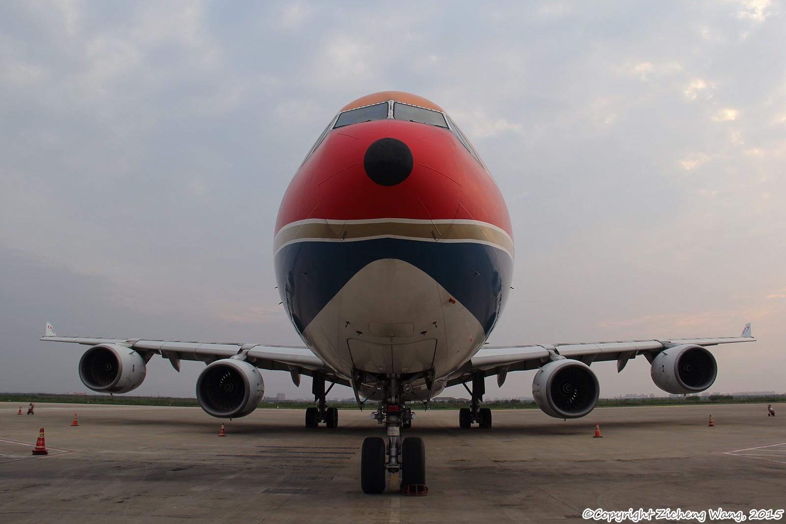 [原创]【上海飞友会】一图-纪念离去的B-6055【内场】 AIRBUS A340-642 B-6055 中国上海浦东国际机场