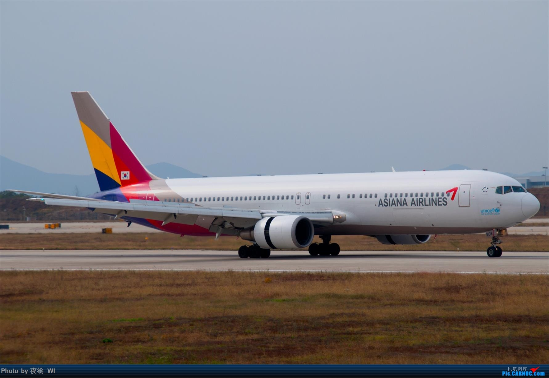 Re:[原创]【NKG】1800*1200,周末随便拍,意外等到好货 BOEING 767-300 HL7506 中国南京禄口国际机场