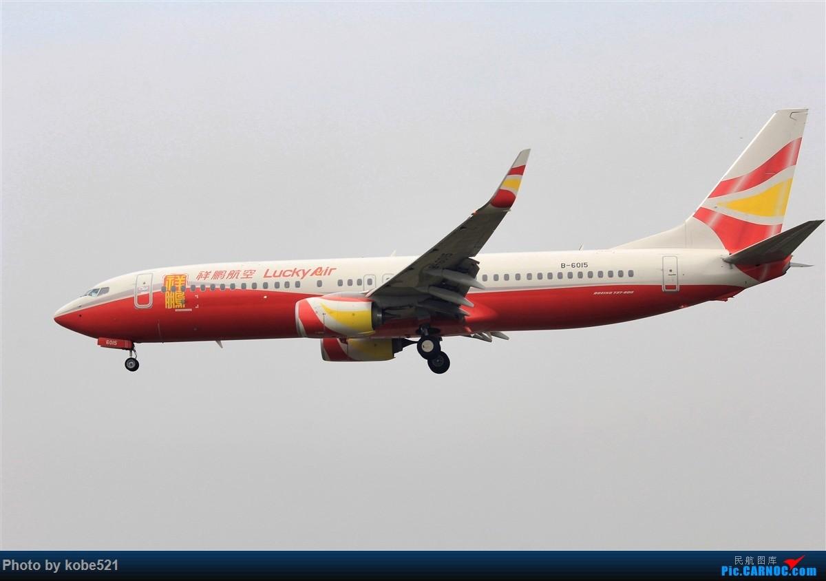 Re:[原创]雾霾季的小灰灰 BOEING 737-800 B-6015 中国杭州萧山国际机场