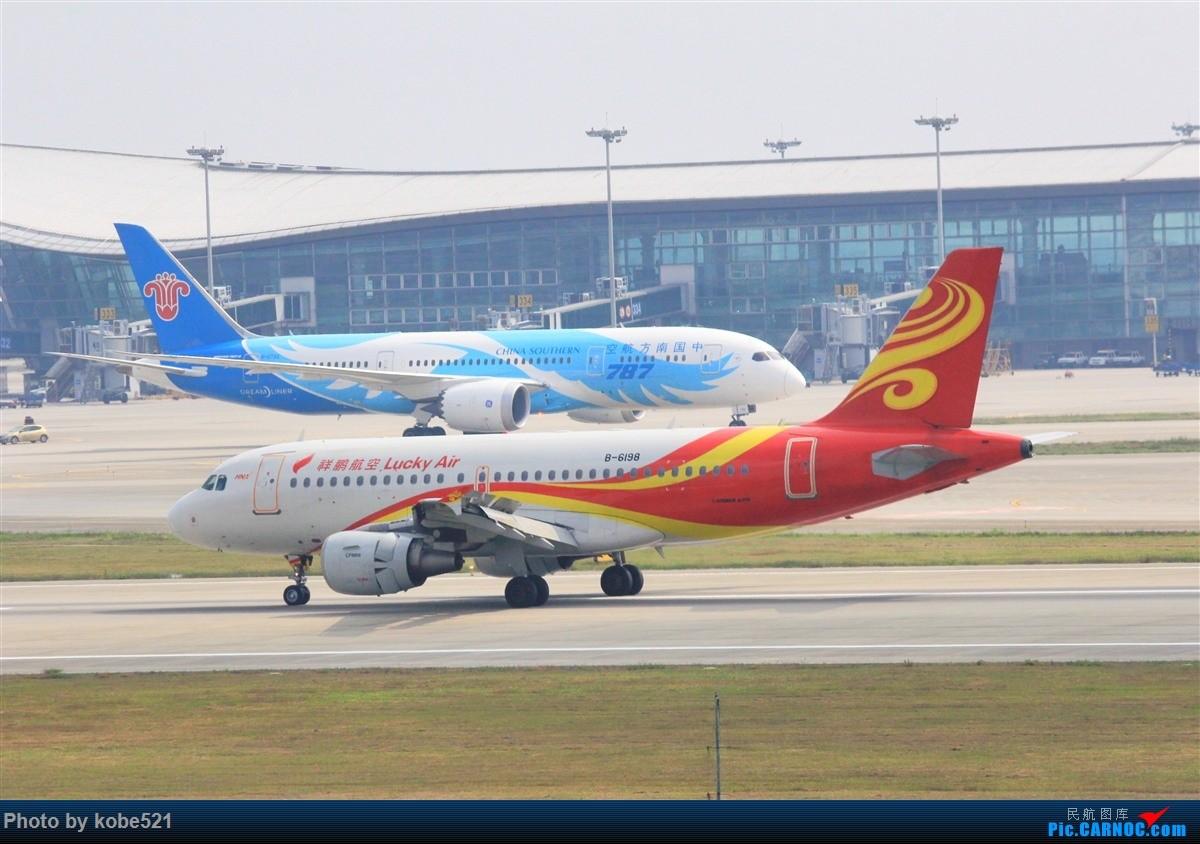 Re:[原创]雾霾季的小灰灰 AIRBUS A319-100 B-6198 中国杭州萧山国际机场